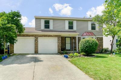 Dublin Single Family Home For Sale: 7469 Gardenview Place