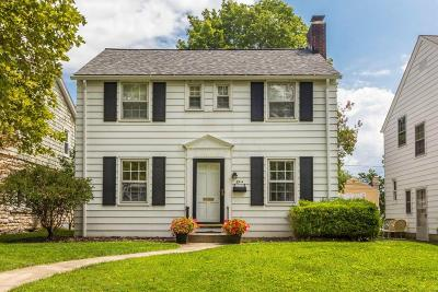 Bexley Single Family Home Contingent Finance And Inspect: 894 S Remington Road