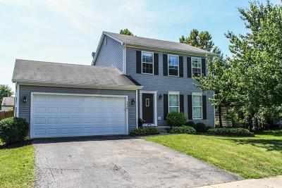 Pickerington Single Family Home For Sale: 7445 Brown Deer Drive