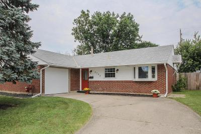 Reynoldsburg Single Family Home Contingent Finance And Inspect: 6548 Creon Drive