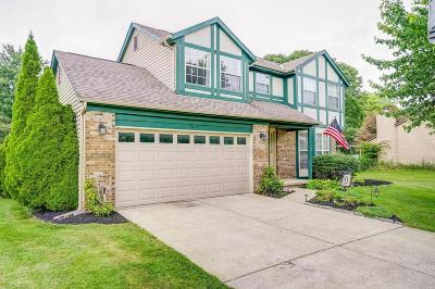 Pickerington Single Family Home Contingent Finance And Inspect: 9829 Meadow Wood Drive