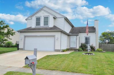 Grove City Single Family Home Contingent Finance And Inspect: 4235 Demorest Cove Court
