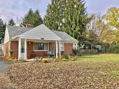 Columbus Single Family Home For Sale: 1091 Kingsbury Place