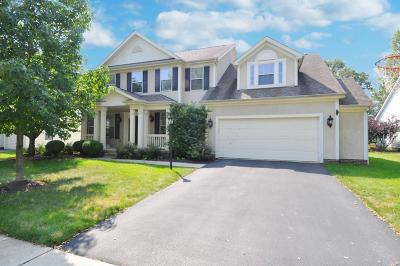 Dublin Single Family Home For Sale: 6827 Bishops Crossing Circle