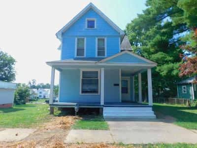 Mount Vernon OH Single Family Home For Sale: $59,900