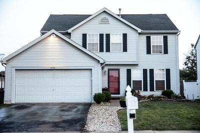 Columbus Single Family Home For Sale: 1341 Halfhill Way