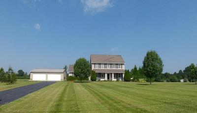 Johnstown Single Family Home Contingent Finance And Inspect: 9181 Crouse Willison Road