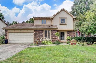 Westerville Single Family Home Contingent Finance And Inspect: 1255 Chatham Ridge Road