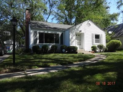 Single Family Home For Sale: 640 E Beaumont Road