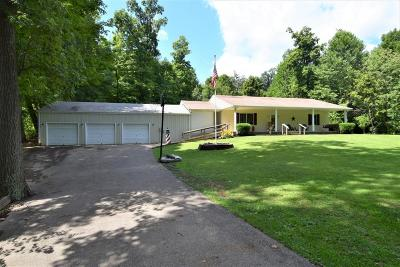 Single Family Home For Sale: 8745 Chillicothe Lancaster Road SW