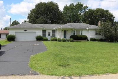 Mount Vernon OH Single Family Home For Sale: $135,000