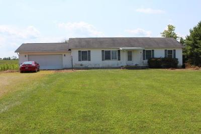 Circleville OH Single Family Home For Sale: $70,000