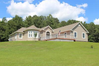 Jackson County Single Family Home For Sale: 897 Hall & Davis Road