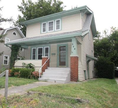 Clintonville Single Family Home Contingent Finance And Inspect: 544 E Weber Road