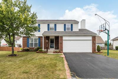 Reynoldsburg Single Family Home For Sale: 8600 Firstgate Drive