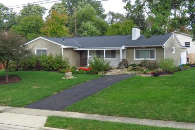 Upper Arlington Single Family Home For Sale: 2292 Eastcleft Drive