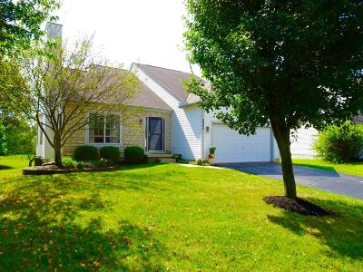 Reynoldsburg Single Family Home Contingent Finance And Inspect: 8965 Coral Canyon Circle