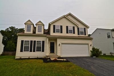 Reynoldsburg Single Family Home Contingent Finance And Inspect: 8458 Reynoldswood Drive