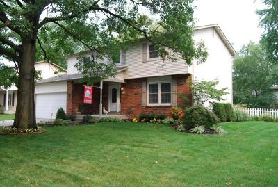 Westerville Single Family Home Contingent Finance And Inspect: 746 Linncrest Drive
