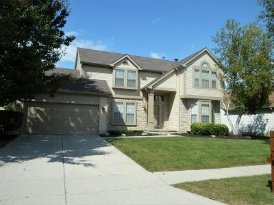 Dublin Single Family Home Contingent Finance And Inspect: 5752 Sandymount Drive