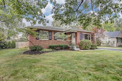 Upper Arlington Single Family Home Contingent Finance And Inspect: 2553 Mount Holyoke Road