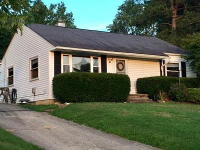 Chillicothe OH Single Family Home For Sale: $75,000