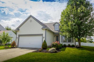 Reynoldsburg Single Family Home Contingent Finance And Inspect: 8377 Rodebaugh Road