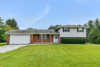 Single Family Home For Sale: 7800 Dustin Road