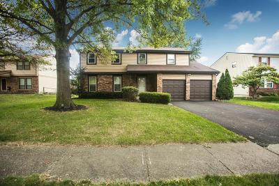 Reynoldsburg Single Family Home Contingent Finance And Inspect: 6389 Welldon Court
