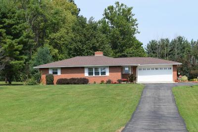 Single Family Home For Sale: 8989 Dustin Road