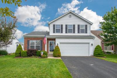 Blacklick Single Family Home Contingent Finance And Inspect: 7878 Waggoner Run Drive