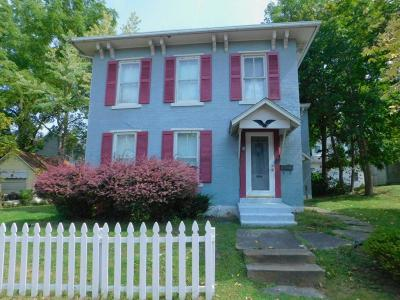 Mount Vernon OH Single Family Home For Sale: $76,000