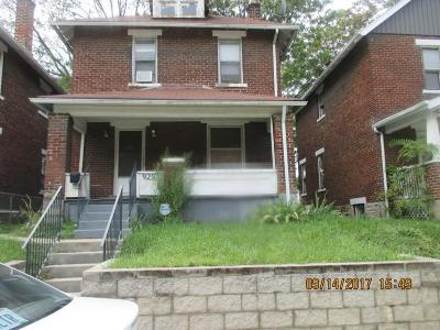 Columbus OH Single Family Home Closed: $60,000