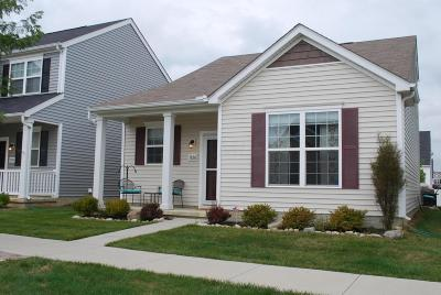 Dublin Single Family Home Contingent Finance And Inspect: 5830 Marble Creek Street