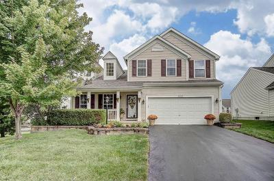 Blacklick Single Family Home Contingent Finance And Inspect: 7620 Dover Ridge Court