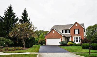 Hilliard Single Family Home Contingent Finance And Inspect: 4051 Greenbelt Drive
