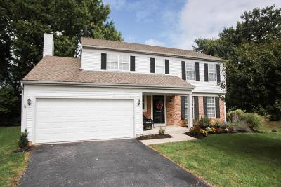 Dublin Single Family Home Contingent Finance And Inspect: 7786 Hathaway Park Court