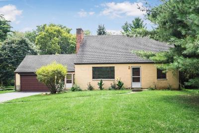 Worthington Single Family Home Contingent Finance And Inspect: 1885 Snouffer Road