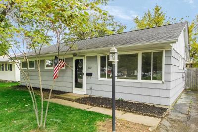 Hilliard Single Family Home For Sale: 4227 Winterringer Street