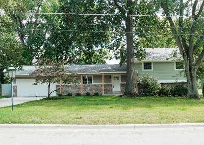 Upper Arlington Single Family Home Contingent Finance And Inspect: 4012 Lyon Drive
