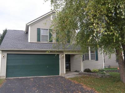 Reynoldsburg Single Family Home Contingent Finance And Inspect: 7007 Finchley Drive