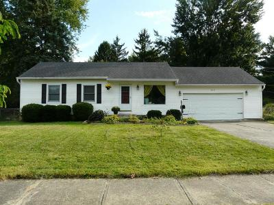 Westerville Single Family Home Contingent Finance And Inspect: 663 Rebecca Avenue