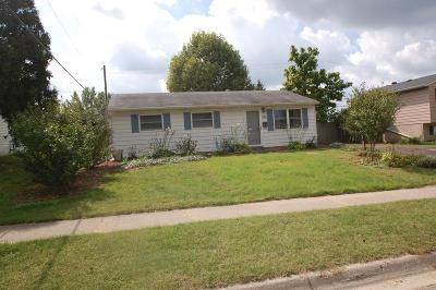 Westerville Single Family Home Contingent Finance And Inspect: 3587 Manila Drive