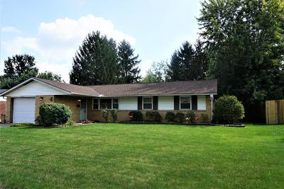 Reynoldsburg Single Family Home Contingent Finance And Inspect: 6813 Gilette Drive