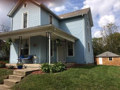 Baltimore Single Family Home Contingent Finance And Inspect: 1318 W Maple Street