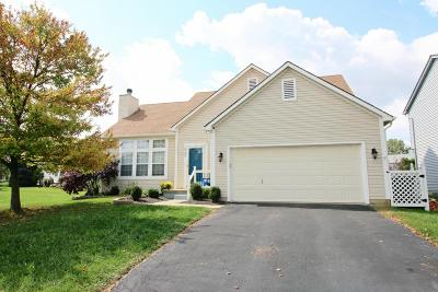 Hilliard Single Family Home Contingent Finance And Inspect: 2789 Westrock Drive