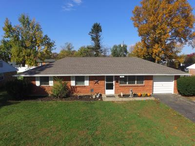 Washington Court House OH Single Family Home For Sale: $102,700