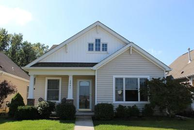 Westerville Single Family Home Contingent Finance And Inspect: 6061 Eden Valley Drive