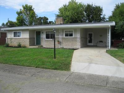 Chillicothe OH Single Family Home For Sale: $127,900