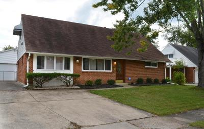 Reynoldsburg Single Family Home Contingent Finance And Inspect: 6619 Furth Drive